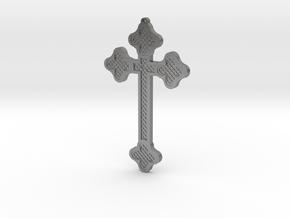 1:6 scale replica cross; Bram Stoker's Dracula in Natural Silver