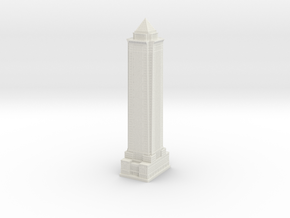 BNY Mellon Bank Building (1:2000) in White Natural Versatile Plastic