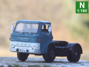 Ford D series tractor truck N scale in Smoothest Fine Detail Plastic: 1:160 - N