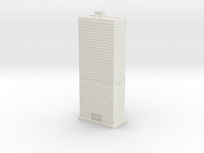 Five Penn Center (1:2000) in White Natural Versatile Plastic