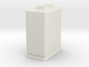 United Plaza (1:2000) in White Natural Versatile Plastic