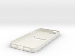 IPhone 5S Batman Case in White Strong & Flexible