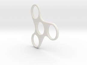 3 Ben 22.2 in White Natural Versatile Plastic