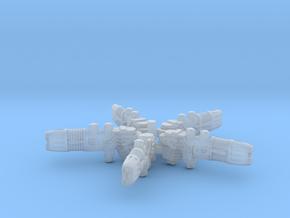 Plasma Repeating Shotgun Sprue X5 in Smooth Fine Detail Plastic
