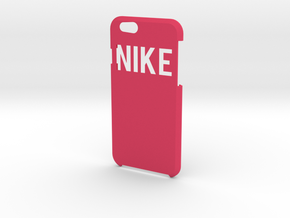 """""""Nike"""" Logo in Pink Strong & Flexible Polished"""