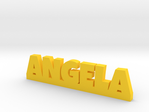 ANGELA Lucky in Yellow Processed Versatile Plastic