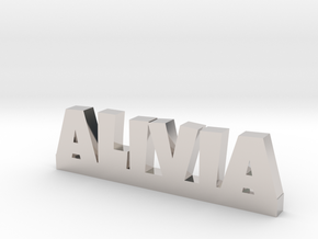 ALIVIA Lucky in Rhodium Plated Brass