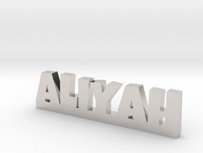 ALIYAH Lucky in Rhodium Plated Brass