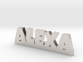 ALEXA Lucky in Rhodium Plated Brass
