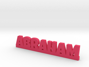 ABRAHAM Lucky in Pink Processed Versatile Plastic