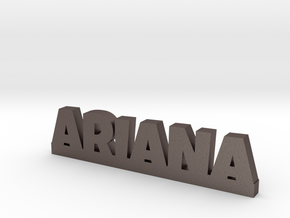 ARIANA Lucky in Polished Bronzed Silver Steel