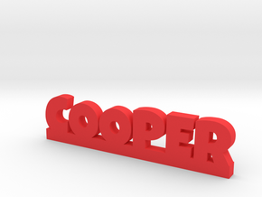 COOPER Lucky in Red Strong & Flexible Polished