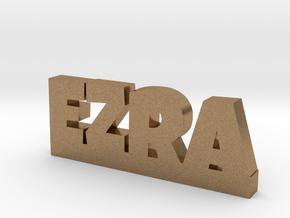EZRA Lucky in Natural Brass