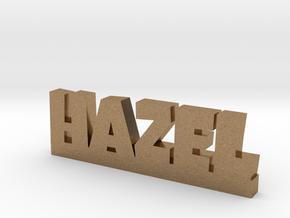 HAZEL Lucky in Natural Brass