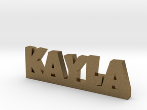 KAYLA Lucky in Natural Bronze