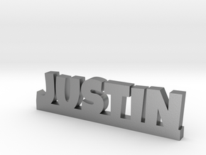 JUSTIN Lucky in Natural Silver