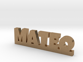 MATEO Lucky in Natural Brass