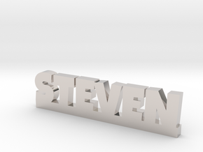 STEVEN Lucky in Rhodium Plated Brass