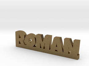 ROMAN Lucky in Natural Bronze