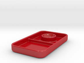 Ei in Gloss Red Porcelain