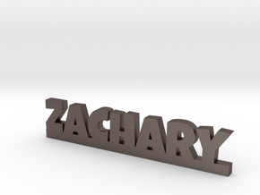 ZACHARY Lucky in Polished Bronzed Silver Steel