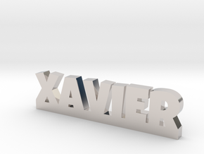 XAVIER Lucky in Rhodium Plated Brass