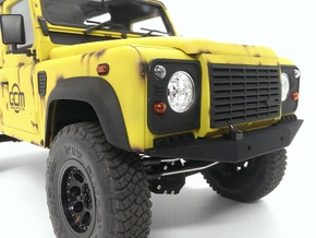 CMAX+Raffee Defender Front Bumper in Black Natural Versatile Plastic