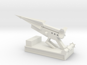 1/144 Scale Nike Launch Pad With Missile in White Natural Versatile Plastic