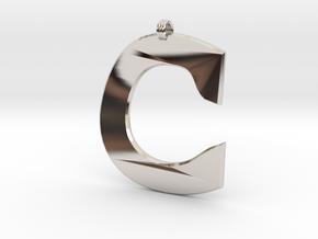 Distorted letter C in Platinum