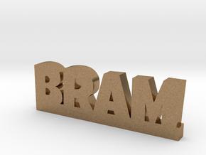 BRAM Lucky in Natural Brass