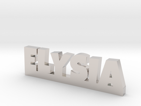 ELYSIA Lucky in Rhodium Plated Brass