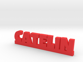 CATELIN Lucky in Red Processed Versatile Plastic
