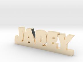 JADEY Lucky in 14k Gold Plated Brass