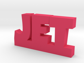 JET Lucky in Pink Processed Versatile Plastic