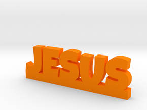 JESUS Lucky in Orange Processed Versatile Plastic