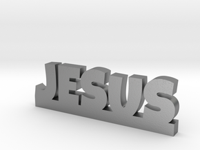 JESUS Lucky in Natural Silver