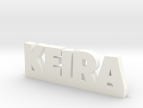 KEIRA Lucky in White Processed Versatile Plastic