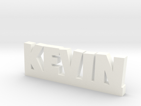 KEVIN Lucky in White Processed Versatile Plastic