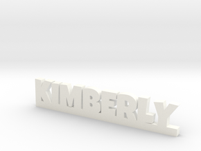 KIMBERLY Lucky in White Strong & Flexible Polished