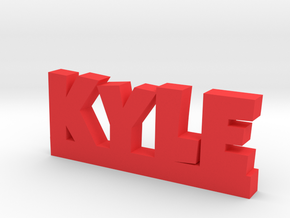 KYLE Lucky in Red Strong & Flexible Polished