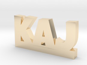 KAJ Lucky in 14k Gold Plated Brass