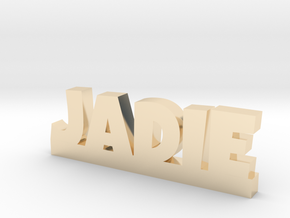 JADIE Lucky in 14k Gold Plated Brass