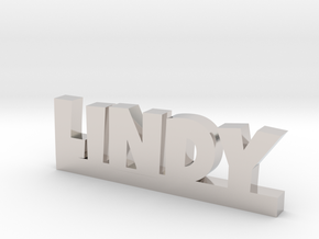LINDY Lucky in Rhodium Plated Brass