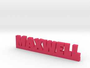 MAXWELL Lucky in Pink Processed Versatile Plastic