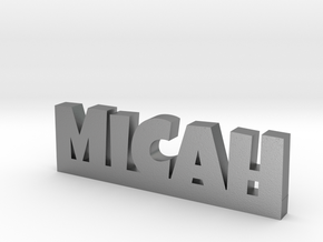 MICAH Lucky in Natural Silver