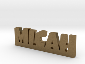 MICAH Lucky in Natural Bronze