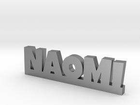 NAOMI Lucky in Natural Silver