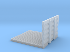 1/64th Drom Headache Rack Deck for Semi tractor in Smooth Fine Detail Plastic