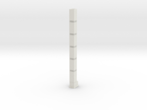 432 Park Ave (1:2000) in White Natural Versatile Plastic