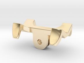 GoPro universal flashlight mount in 14k Gold Plated Brass